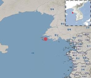 """북한 옹진 앞바다 두 차례 흔들…규모 3.2 지진 """"백령도에서도 느껴져"""""""
